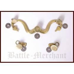 1023092200 Ganchos y botones para Lorica romana Hamata