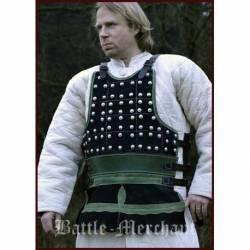 1616607600 Brigandina o Brigandine medieval de cuero