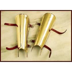 1016601401 Protectores de tibia o grebas de laton
