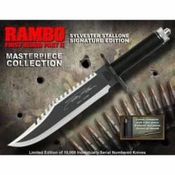 40473 Cuchillo Rambo II Stallone Edition