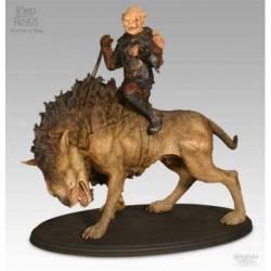 Figura Ghotmorg on Warg El Senor de los Anillos Sideshow