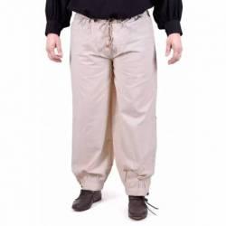1202208740 Pantalones medievales, color natural
