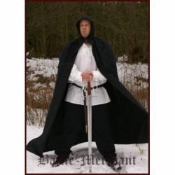 1201900300 Capa con capucha medieval de algodon de alta calidad