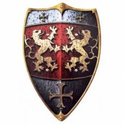 1580357800 Escudo de madera para ninos Caballero de la roca de Leon