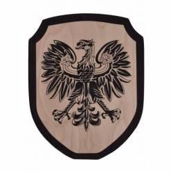 1580370400 Escudo Caballero de madera para ninos aguila de madera