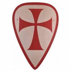 1580391500 Escudo de madera para ninos de los cruzados