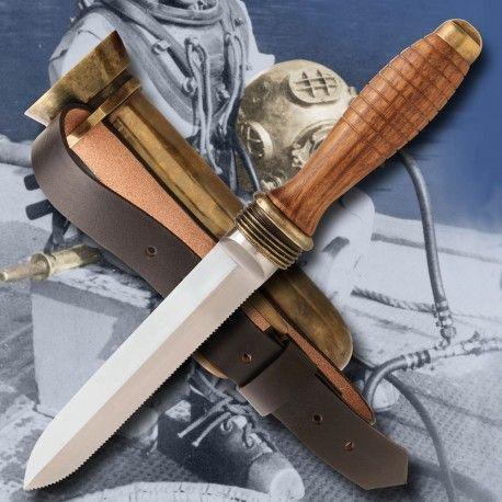 Cuchillo Submarinismo 2ª Guerra Mundial