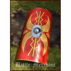 1116385302 Escudo de los legionarios romanos, umbo acero