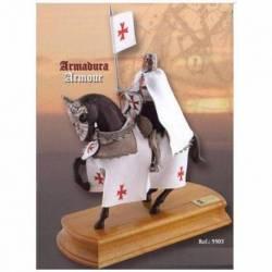 5503 Figura a caballo de Caballero Templario