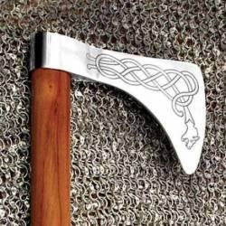 600796 Hacha Vikinga Dragon