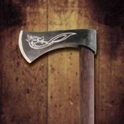 601030 Hacha de Lanzar Vikinga Funcional