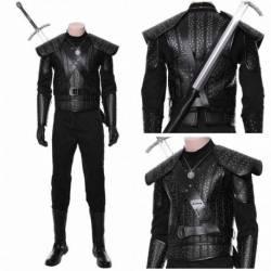 Geralt de Rivia Cosplay profesional disfraz The Witcher Netflix