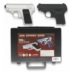 set de 2 pistolas en maletin.