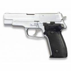 Pistola AIRSOFT. Pesada. Blanca. HFC