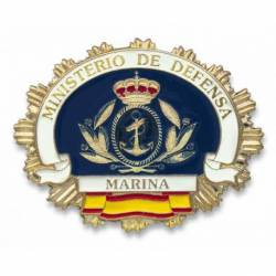 Chapa cartera M. DEFENSA MARINA