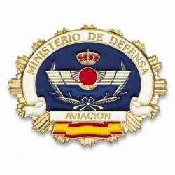 Chapa cartera M. DEFENSA AVIACION