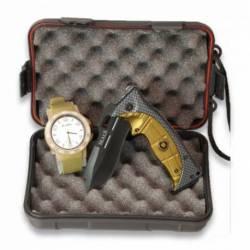 Set: Caja + Reloj Coyote + Navaja 19340
