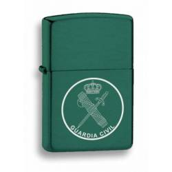 mechero verde. Guardia Civil