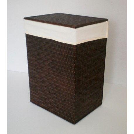 Ropero rectangular Tireta mimbre