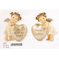 Ángel con el corazón