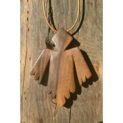 Colgante madera de nogal