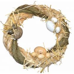 Corona retama y medula con huevos