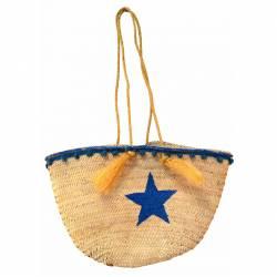 Bolso palma grande con estrella