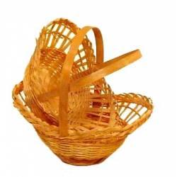 Juego de 2 cestas ovaladas
