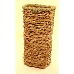 Paragüero cuadrado anea y cuerda