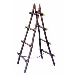 Escalera palo de castaño